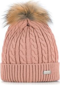 Różowa czapka Wittchen