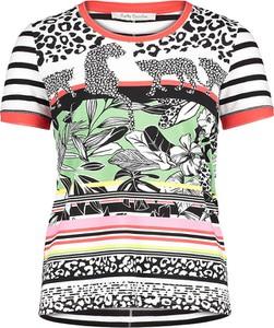 T-shirt Betty Barclay w młodzieżowym stylu z okrągłym dekoltem z krótkim rękawem