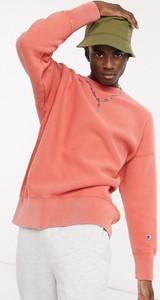 Różowa bluza Champion z plaru w sportowym stylu
