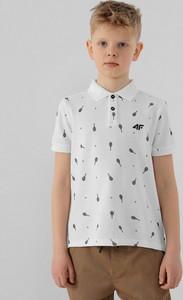 Koszulka dziecięca 4F dla chłopców z krótkim rękawem