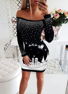 Czarna sukienka Cikelly dopasowana hiszpanka