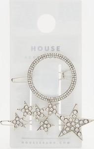 House - Ozdobne spinki do włosów 2-pak - Srebrny