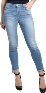 Niebieskie jeansy Pinko w stylu casual z jeansu