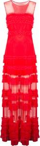 Sukienka Pinko z okrągłym dekoltem