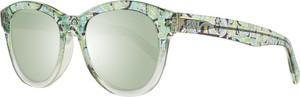 Zielone okulary damskie Emilio Pucci