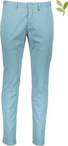 Niebieskie chinosy Marc O'Polo z bawełny
