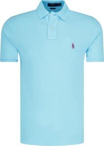Koszulka polo POLO RALPH LAUREN z krótkim rękawem z bawełny w stylu casual