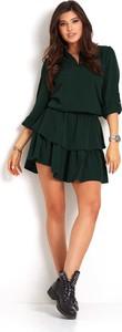 Sukienka Ivon z dekoltem w kształcie litery v mini w stylu casual