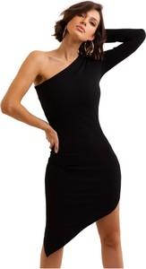 Sukienka Ivon dopasowana mini bez rękawów