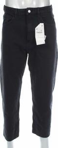 Granatowe jeansy ZARA