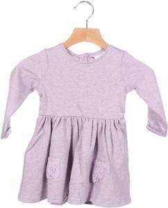 Fioletowa sukienka dziewczęca Next