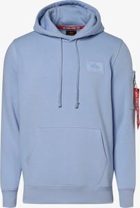 Niebieska bluza Alpha Industries w stylu casual