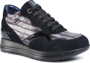 Czarne buty sportowe CALLAGHAN na platformie