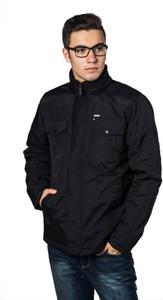 Czarna kurtka WARESHOP w stylu casual krótka
