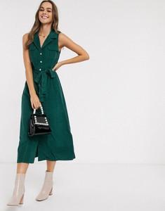 Sukienka Asos Design z dekoltem w kształcie litery v szmizjerka