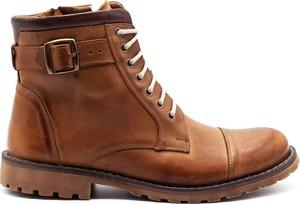 Brązowe buty zimowe Mario Pala