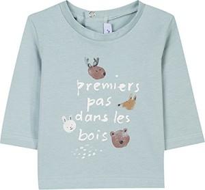 Niebieska koszulka dziecięca Absorba Boutique z długim rękawem