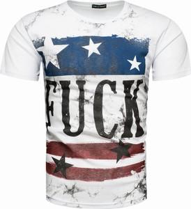 T-shirt Recea z nadrukiem