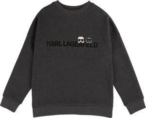 Czarna bluza dziecięca Karl Lagerfeld