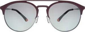 Brązowe okulary damskie Emporio Armani