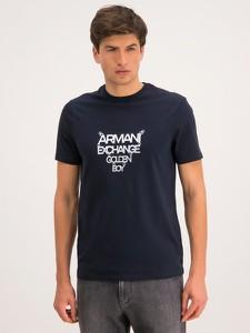 Granatowy t-shirt Armani Jeans