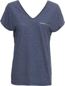 T-shirt bonprix BODYFLIRT z dekoltem w kształcie litery v