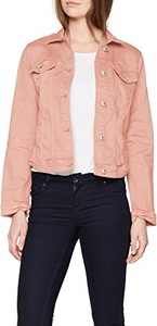 Różowa kurtka amazon.de w stylu casual