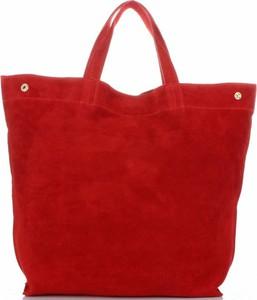 Czerwona torebka Vera Pelle