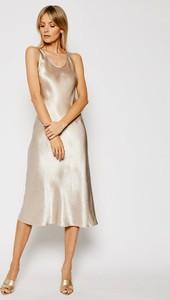 Sukienka MaxMara na ramiączkach midi