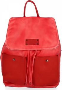 Czerwona torebka Diana&Co lakierowana ze skóry ekologicznej