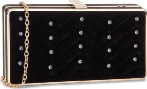 0cb0f4637731a czarna pikowana torebka na łańcuszku - stylowo i modnie z Allani
