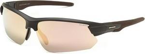 Okulary przeciwsłoneczne SP20070 Solano (czarny/brązowy)