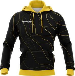 Czarna bluza Vision Wear Sport z bawełny