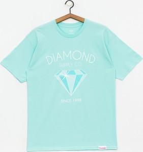 Zielony t-shirt Diamond Supply Co.