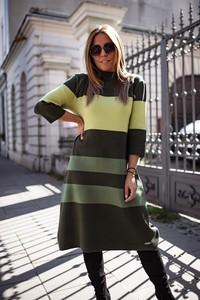 Sukienka Bastet Fashion z długim rękawem