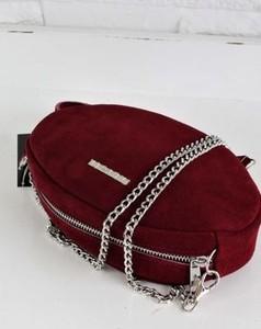 Czerwona torebka Fabiola w stylu glamour