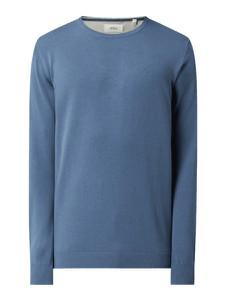Niebieski sweter S.Oliver z okrągłym dekoltem