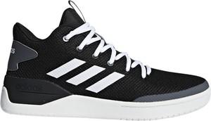 Czarne buty sportowe Adidas Performance w sportowym stylu