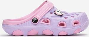 Fioletowe buty dziecięce letnie born2be