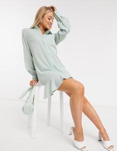 Zielona sukienka Missguided