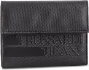 Brązowy portfel męski Trussardi Jeans