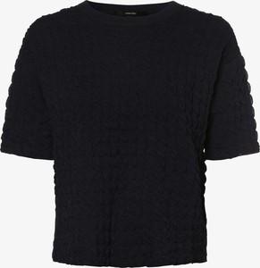 Granatowy sweter someday. w stylu casual