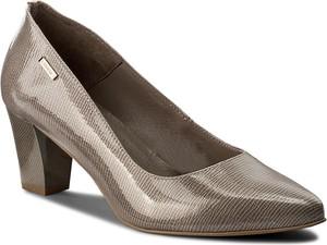 2f2e6b85 Brązowe buty damskie na obcasie CCC, kolekcja wiosna 2019