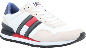 Tommy Hilfiger Sneakersy CASUAL | z dodatkiem skóry