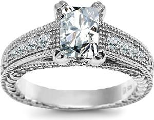 ee3cfc09a1cd48 pierścionek srebrny z cyrkoniami - stylowo i modnie z Allani