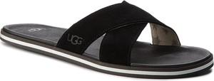 Czarne buty letnie męskie UGG Australia