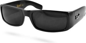 Locs Klasyczne czarne okulary przeciwsłoneczne