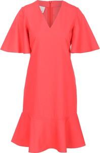 Sukienka Pinko w stylu casual z krótkim rękawem