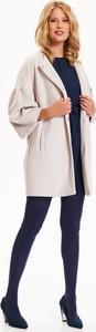 Granatowy płaszcz Top Secret