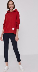 Granatowe jeansy Hugo Boss w stylu casual